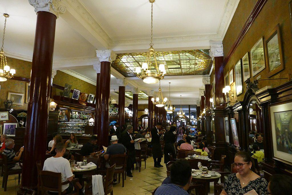 Café Tortoni - just like fallen out of Paris.