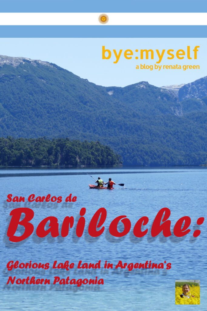 Pinnable Picture on my Post on Bariloche