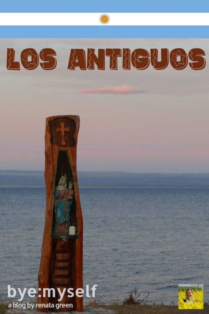 Pinnable Picture for the Post on Los Antiguos