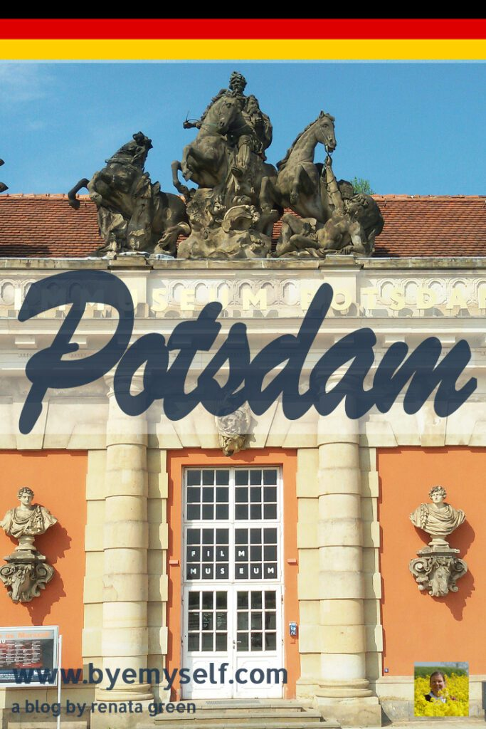 Pinnable Picture for the Post on Potsdam - how Frederick Made a Small Town Great