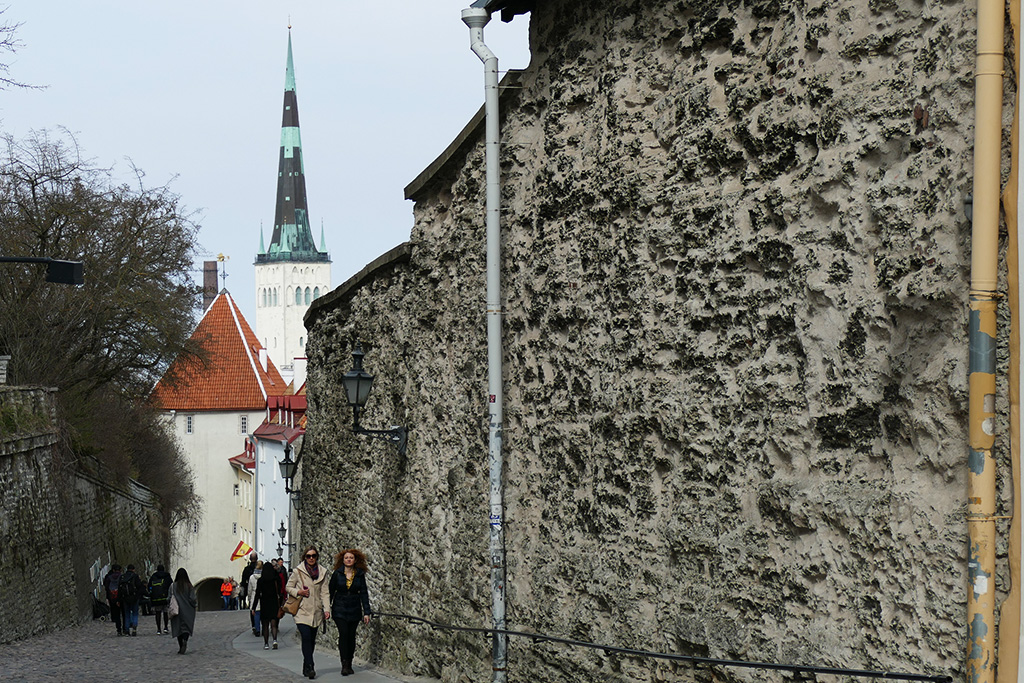 St Olaf's Church in Tallinn, the city between the poles of history and creativity
