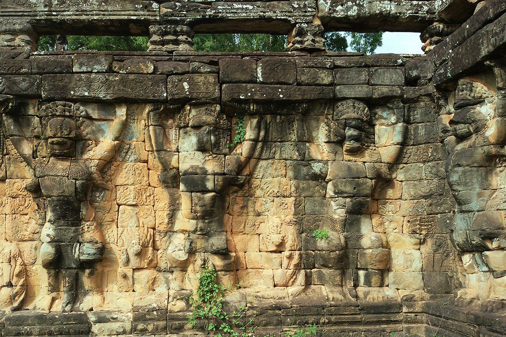 Garuda Carvings