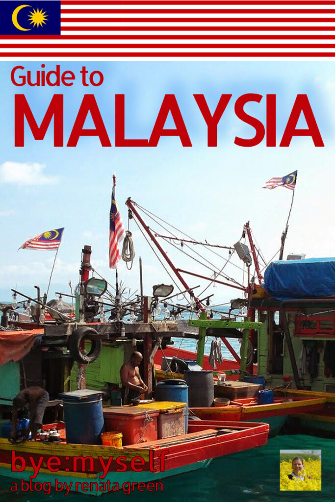 Pinnable Picture for the Post on Complete Guide to MALAYSIA, Asia's Melting Pot