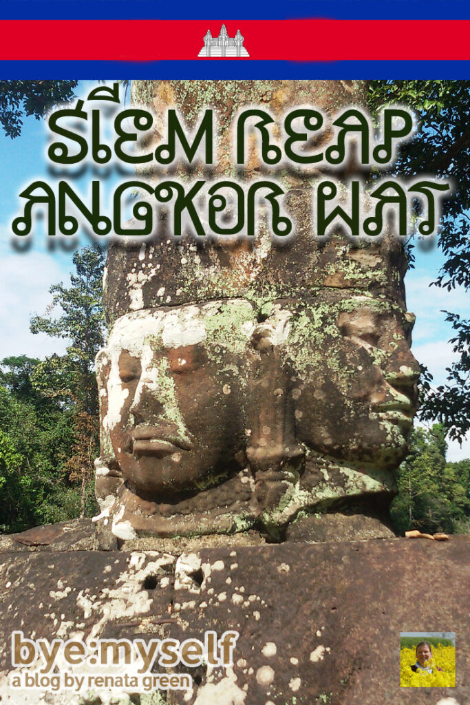 Pinnable Picture for the Post on Guide to SIEM REAP - beyond ANGKOR WAT
