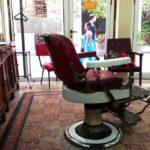 Hairdresser chair at Salon Correo in Havana