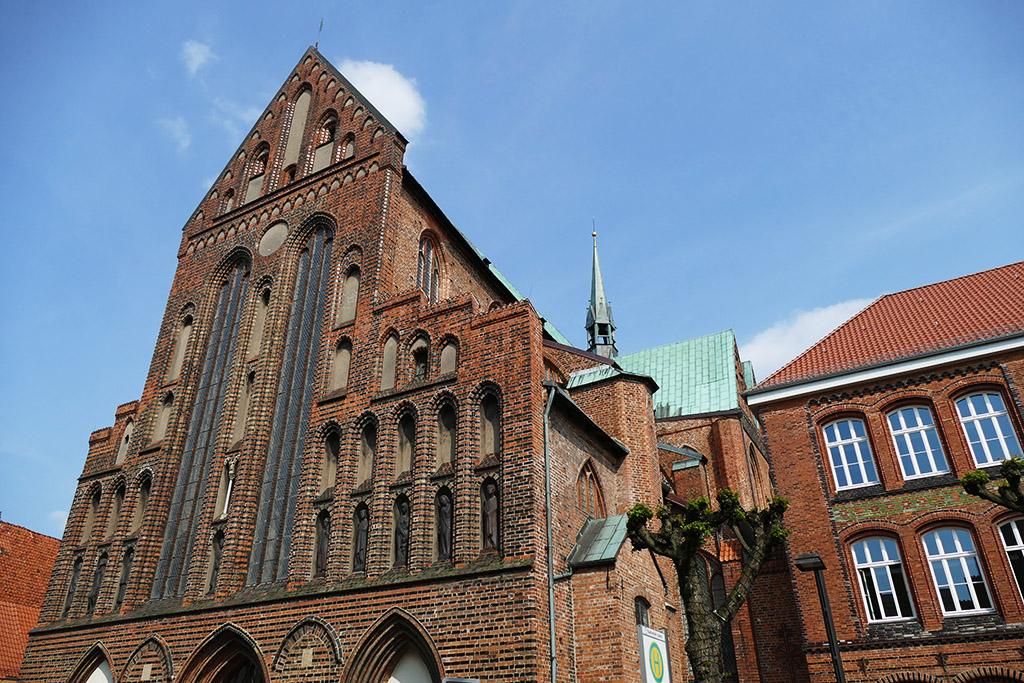 Katharinenkirche at Luebeck