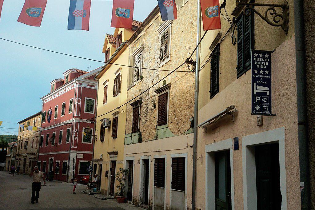 Main Street of Skradin, Croatia