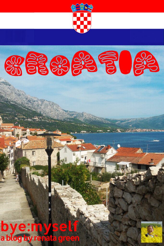 Pinnable Picture for the Post on a Bus Road Trip through Croatia