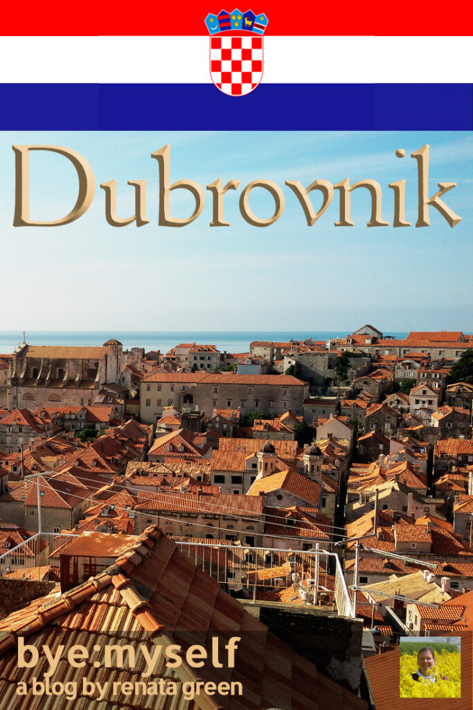 Pinnable Picture for the Post on Guide to DUBROVNIK, Dalmatia's Lustrous Pearl