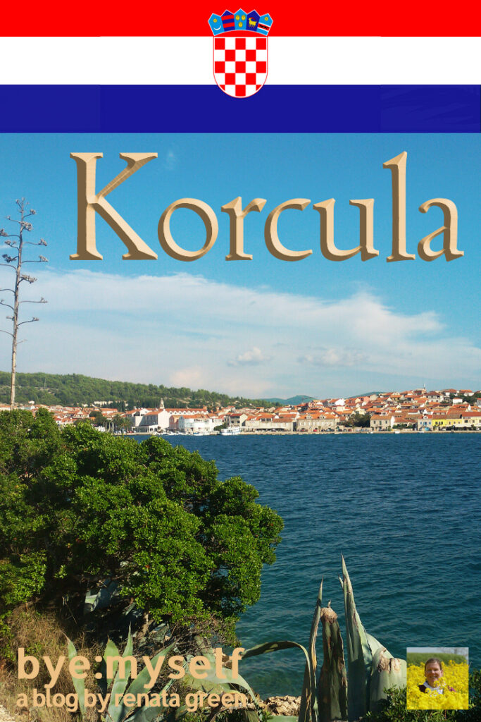 Pinnable Picture for the Post on Guide to VELA LUKA on the Island of KORCULA