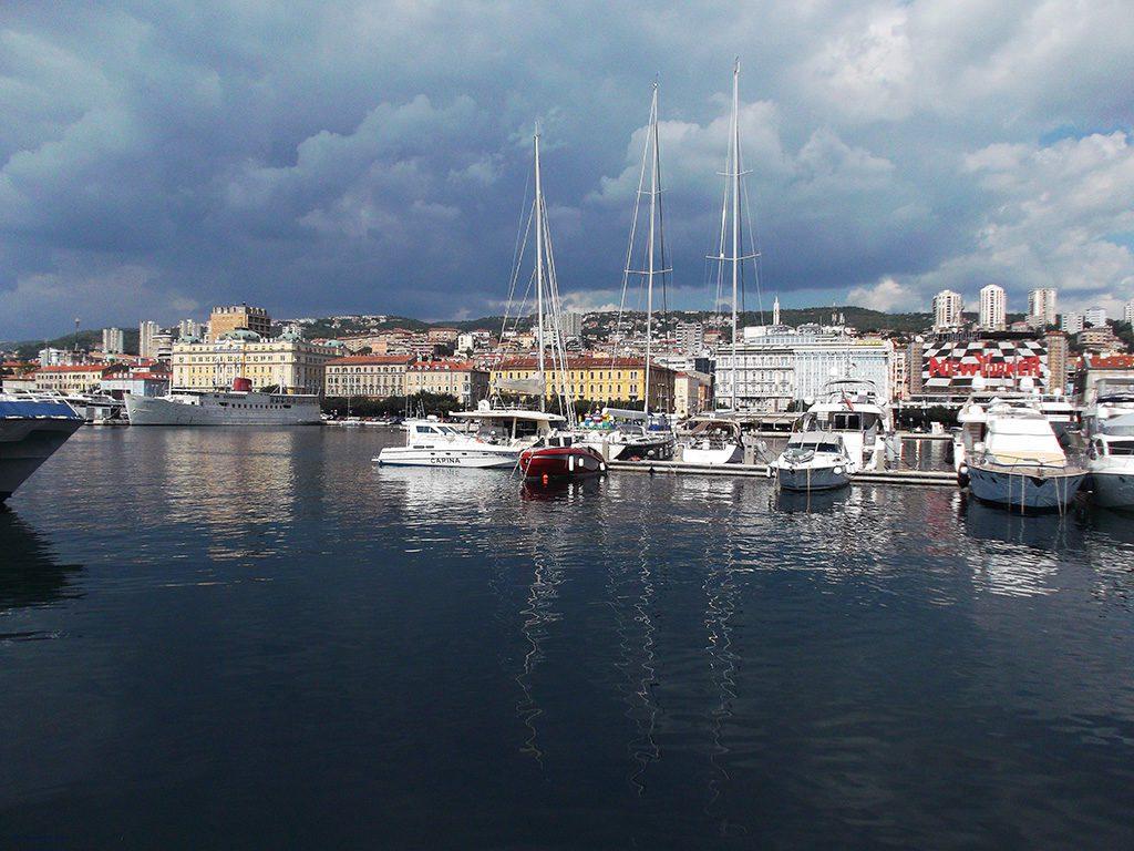 Port of Rijeka Istria Croatia