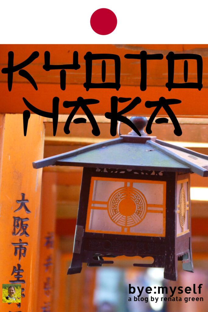 Pinnable Picture for the Post on Kyoto and Nara