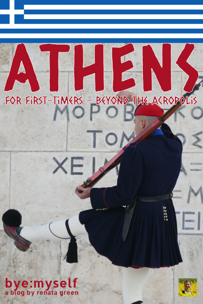 Pinnable Picture for the Post on Athens for First Timers - Beyond the Acropolis