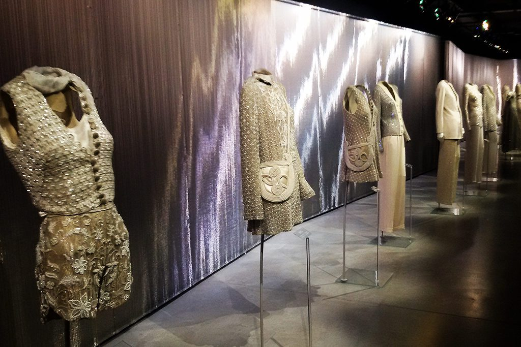 Masterpieces from Armani's collection at the Armani/Silo
