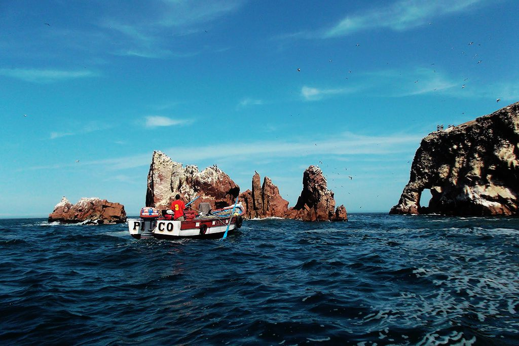 Going by boat to the Islas Ballestas off the shore of Paracas