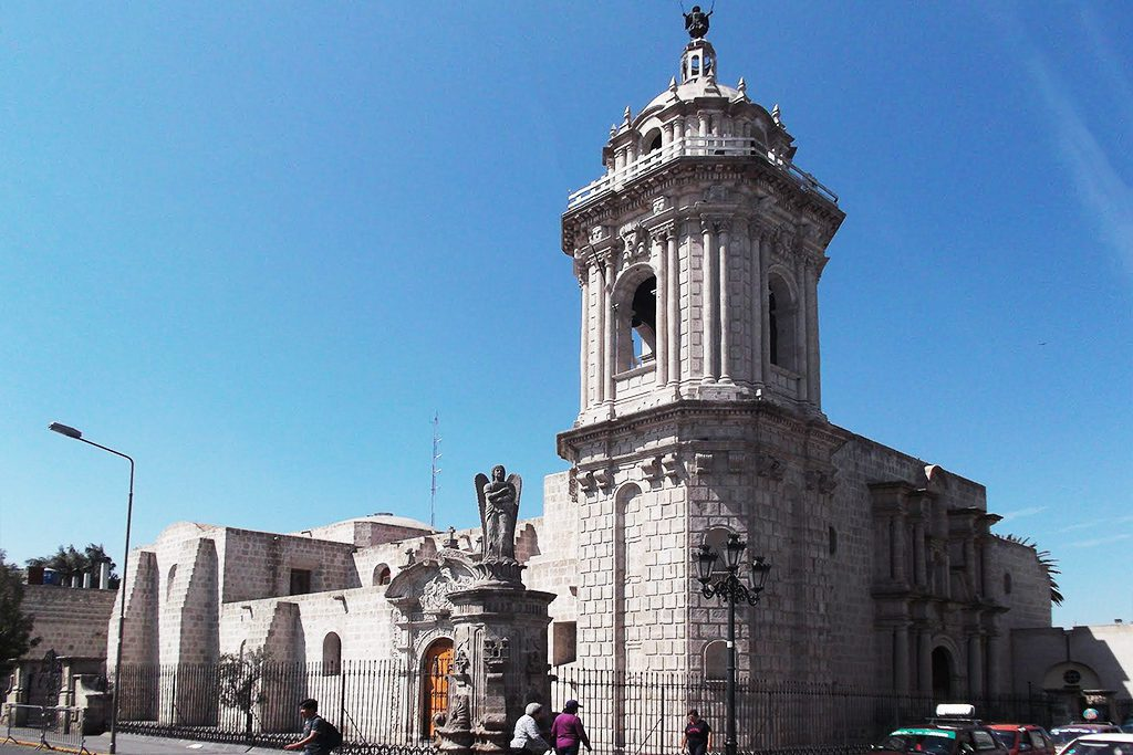 Convento Santo Domingo, introduced in the Guide to Arequipa and the Colca Canyon.