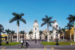 Plaza Mayor in LIMA - beyond Miraflores