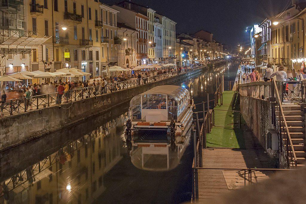 Naviglio in Milan