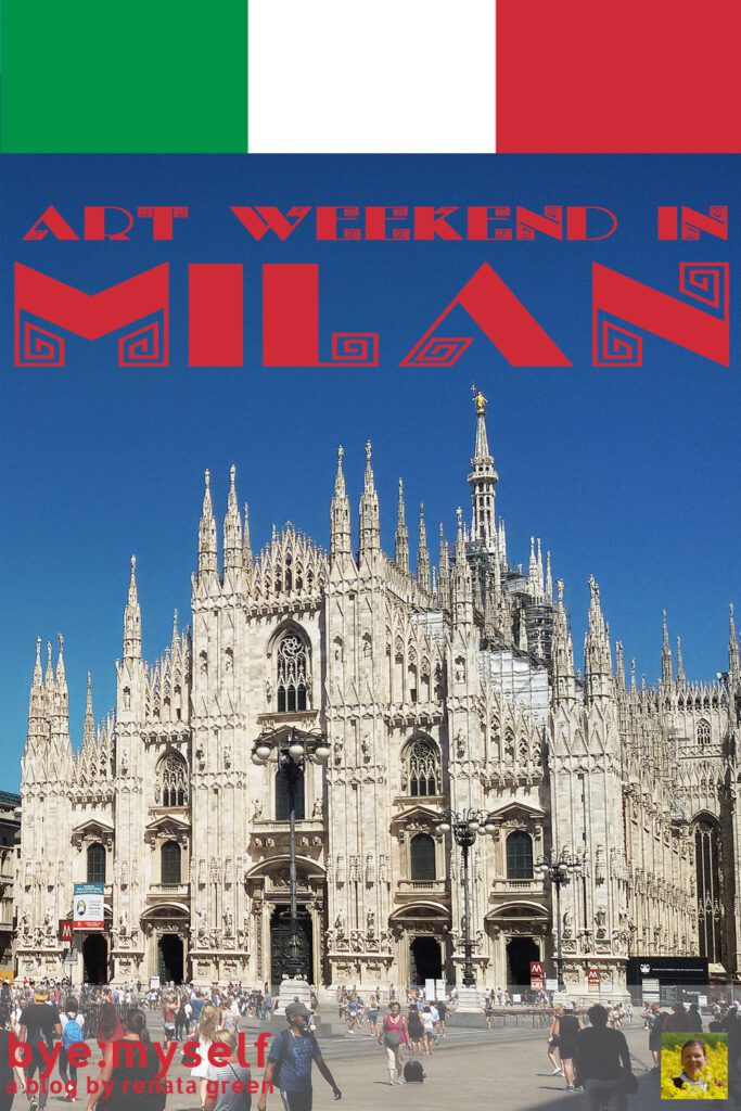 Pinnable Picture for the Post on Art Weekend in Milan