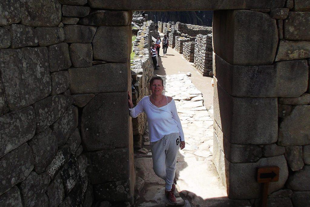 Renata Green at Machu Picchu