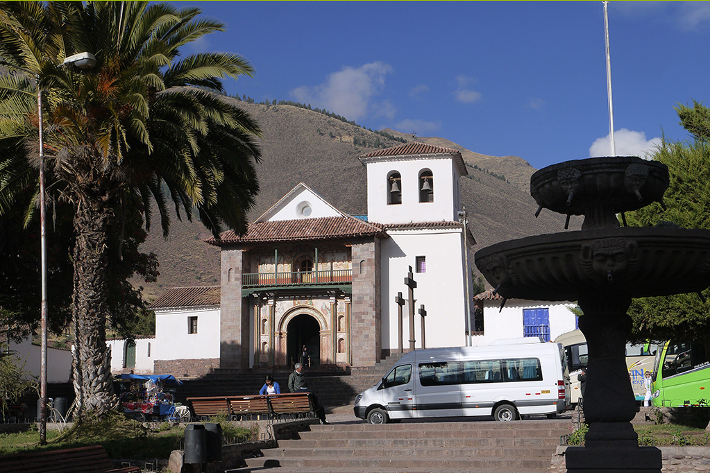 San Pedro de Andahuaylillas.