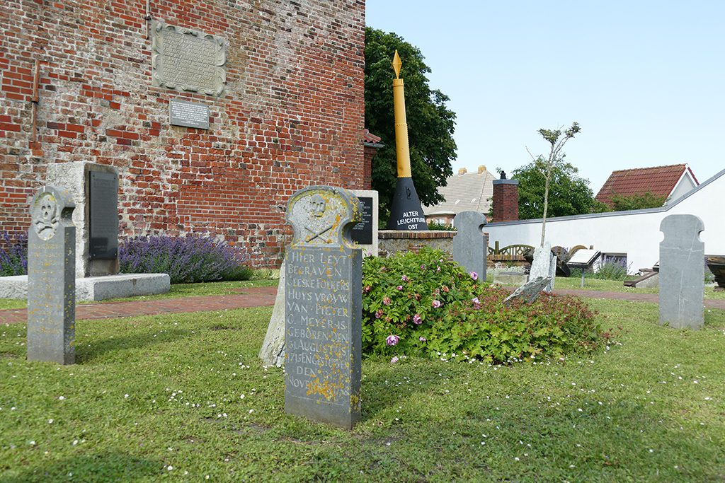 Cemetery on Borkum West of East Frisia
