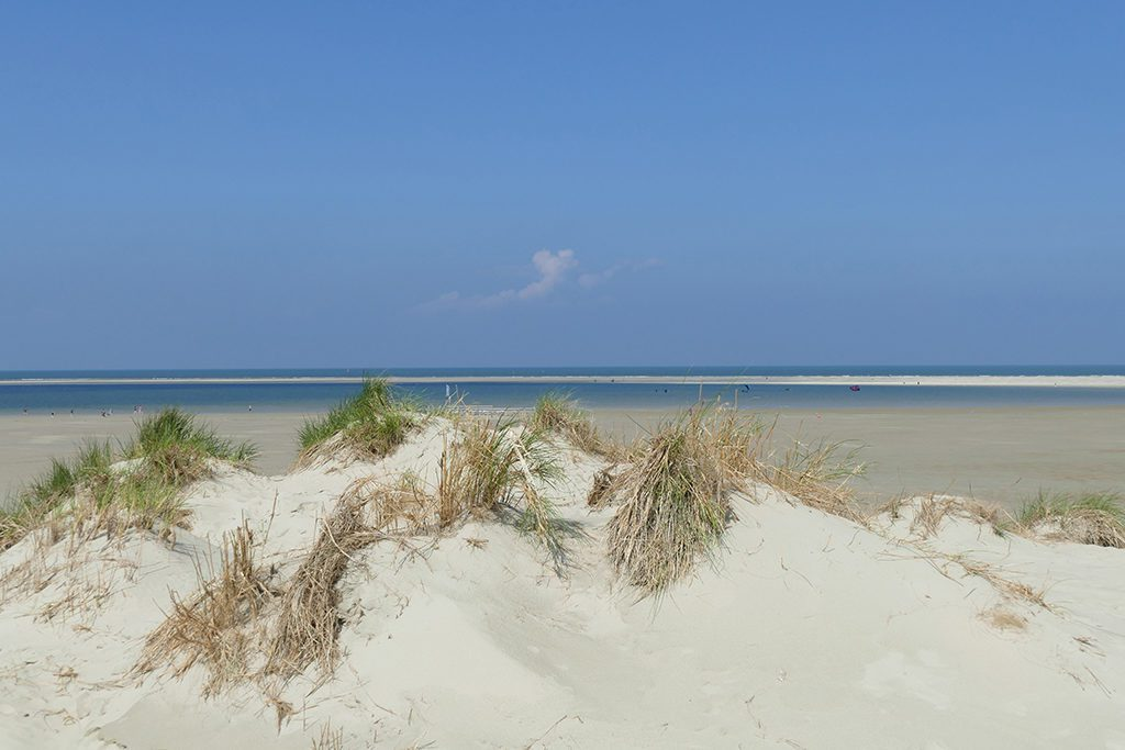 Dunes, beach, the north sea, sandbar,