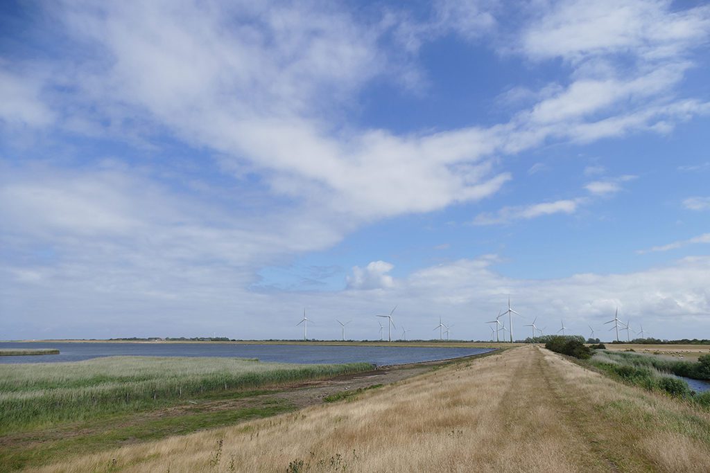 Dikes on the Island of Fehmarn