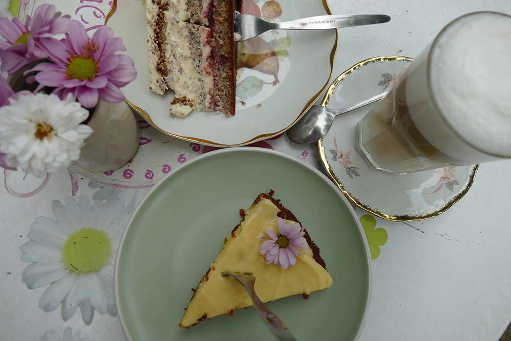 Cake at a Café on Fehmarn