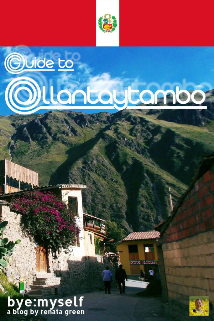 Pinnable Picture for the Post on Ollantaytambo and the Valle Sagrado