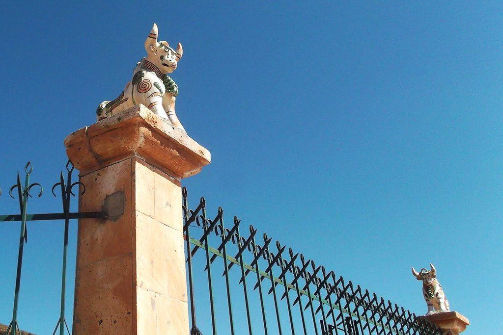 Fence of  Iglesia de Santa Isabel de Pukará