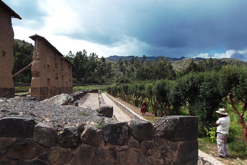 Waricocha Ruins in Raqchi
