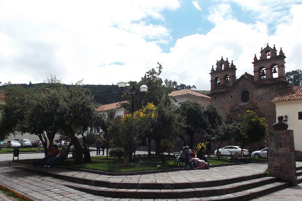 Plazoleta de las Nazarenas in Cusco