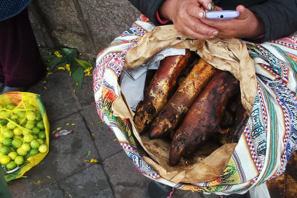 Roasted Guinea Pigs at the Marcado San Pedro