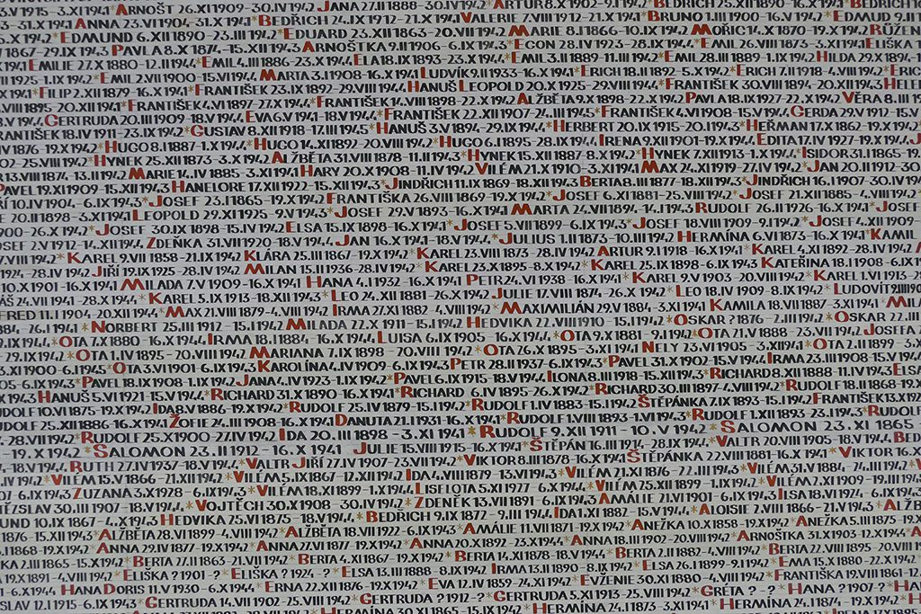 Names of deported Jewish people