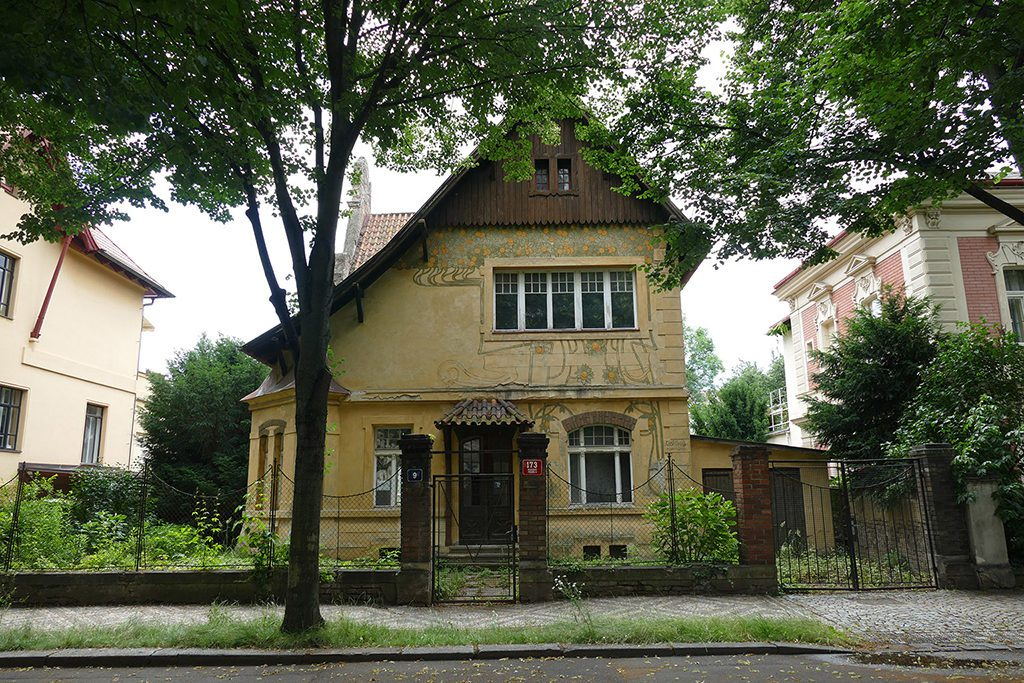 Rihovsky Villa in Prague