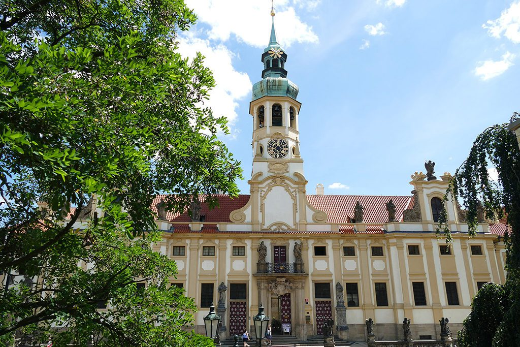 The Baroque Loreto-complex in Prague.