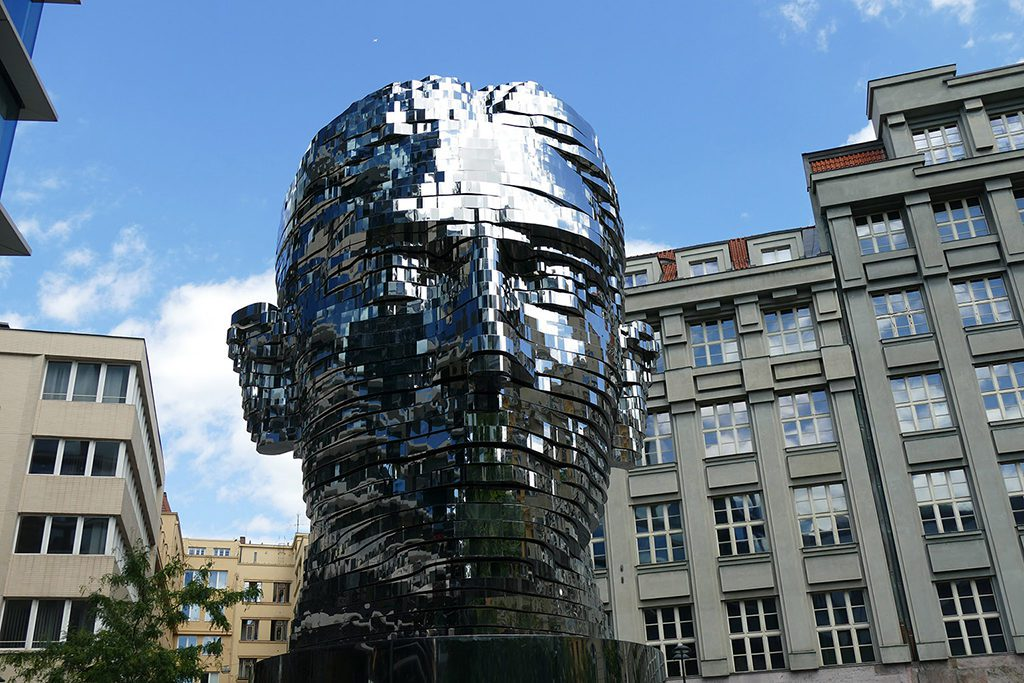Head of Franz Kafka by David Cerny