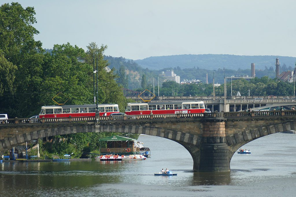 Legion Bridge in Prague