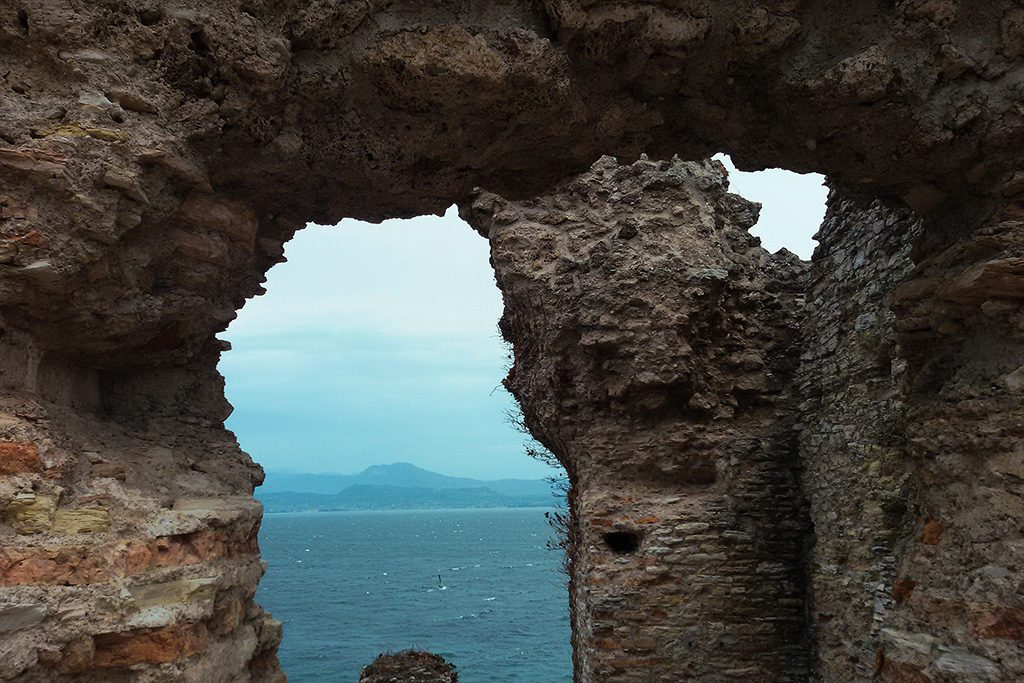 View of Lake Como from the Caves of the Catullus