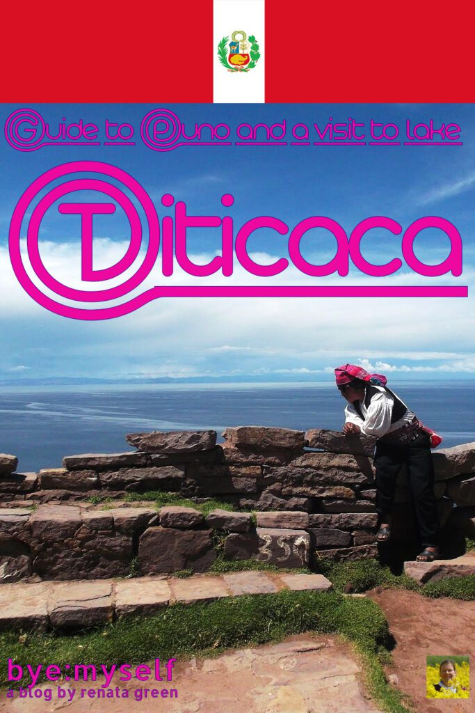 Pinnable Picture for the Post on Guide to PUNO and a visit to lake TITICACA