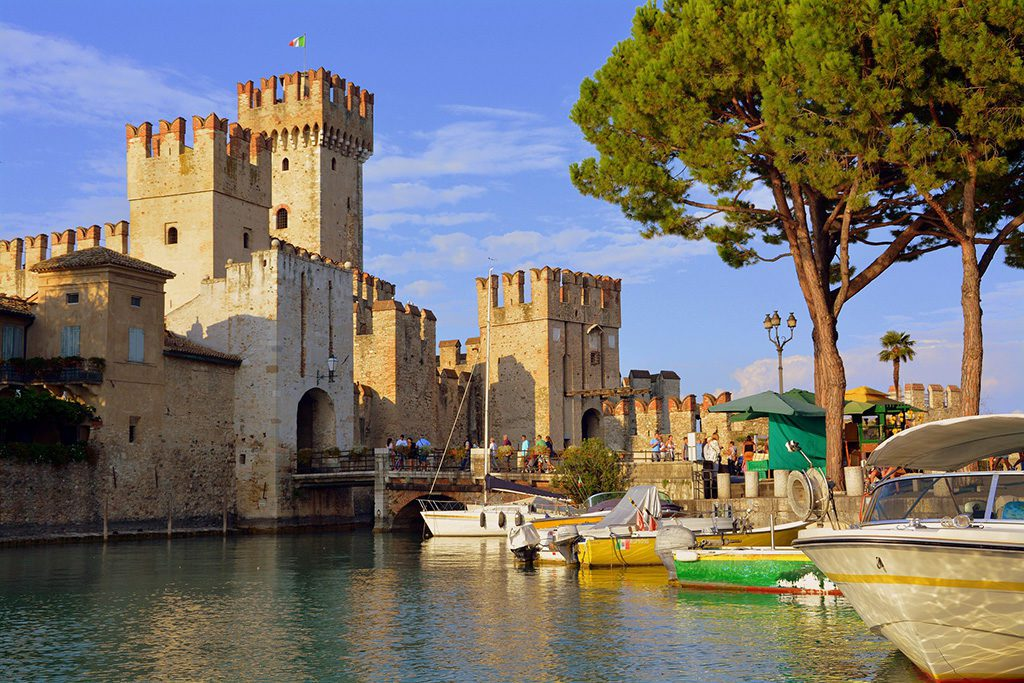 Sirmione's Scaliger Castle