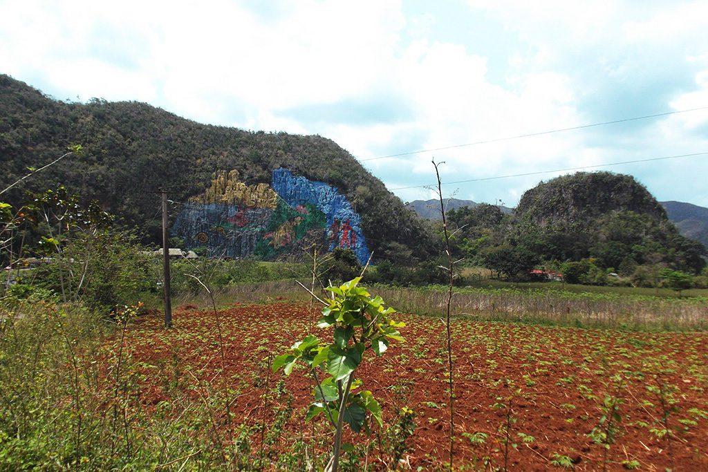 Mural de la Prehistoria at Vinales, Cuba 's Rural Paradise
