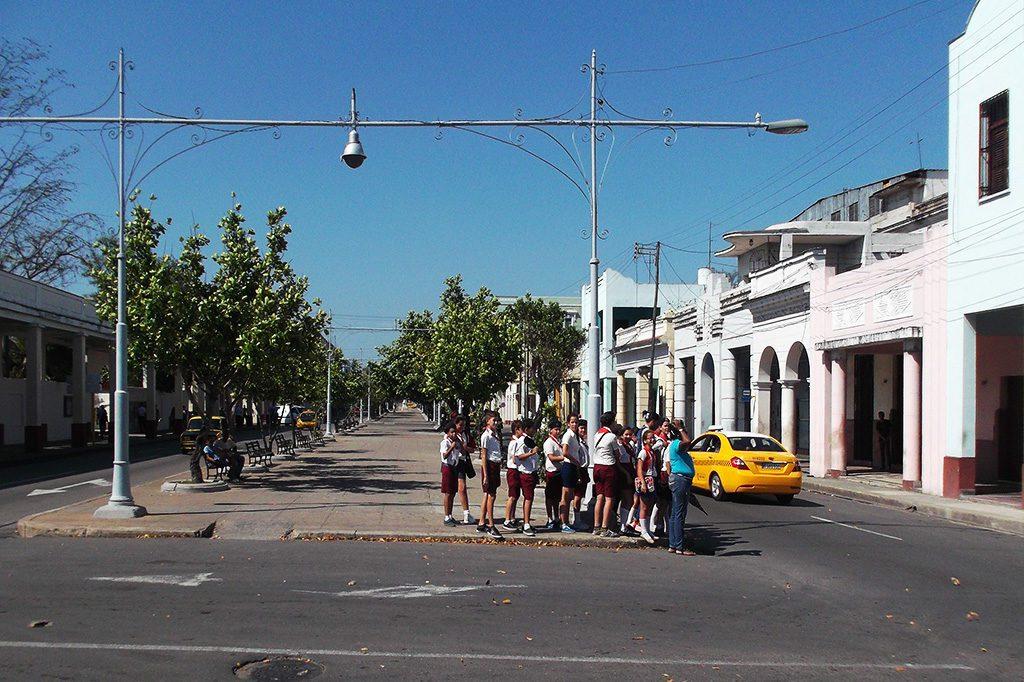 Paseo El  Prado in Cienfuegos