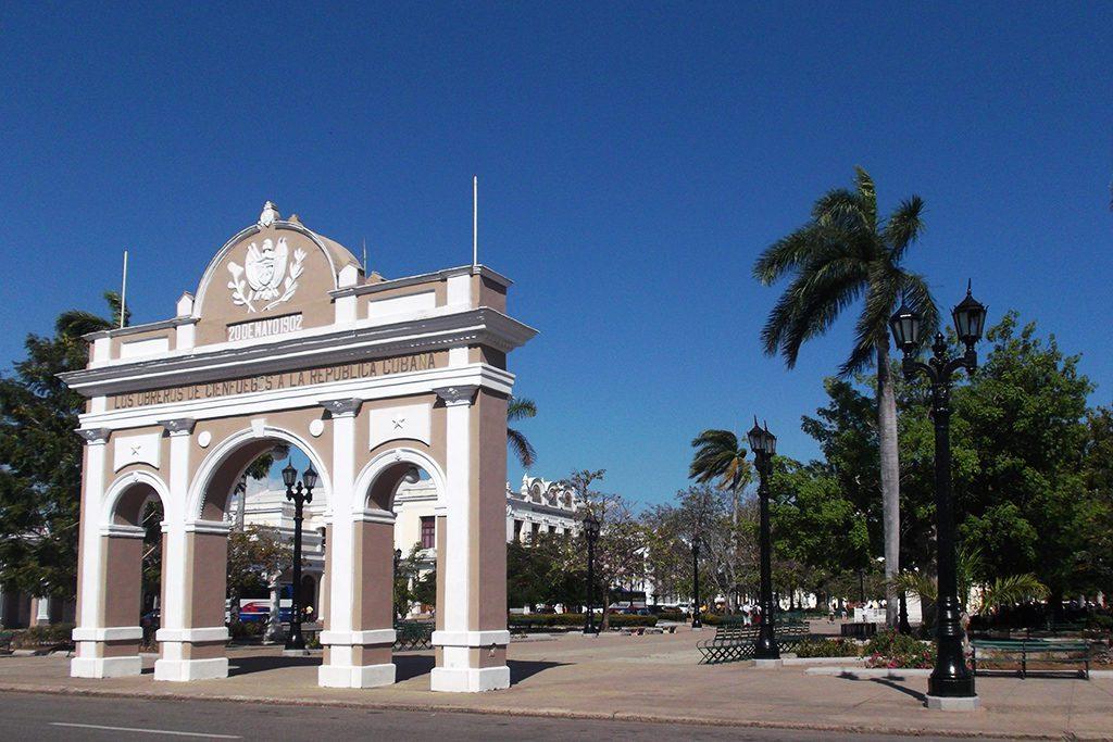 Arco de Triunfo in Cienfuegos