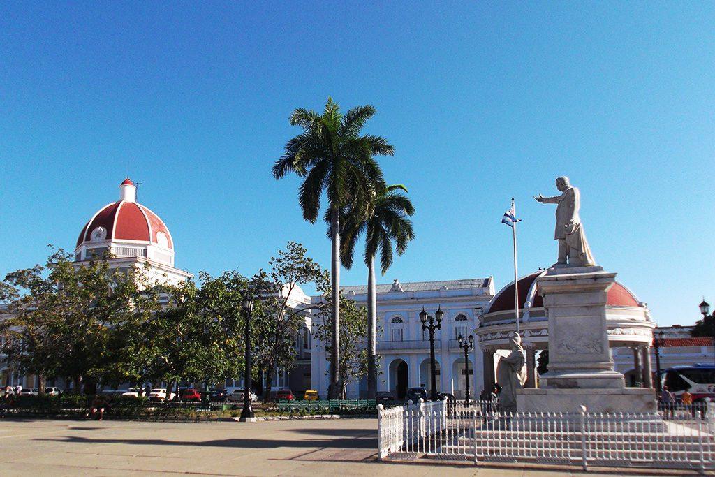 Parque Jose Martí in Cienfuegos