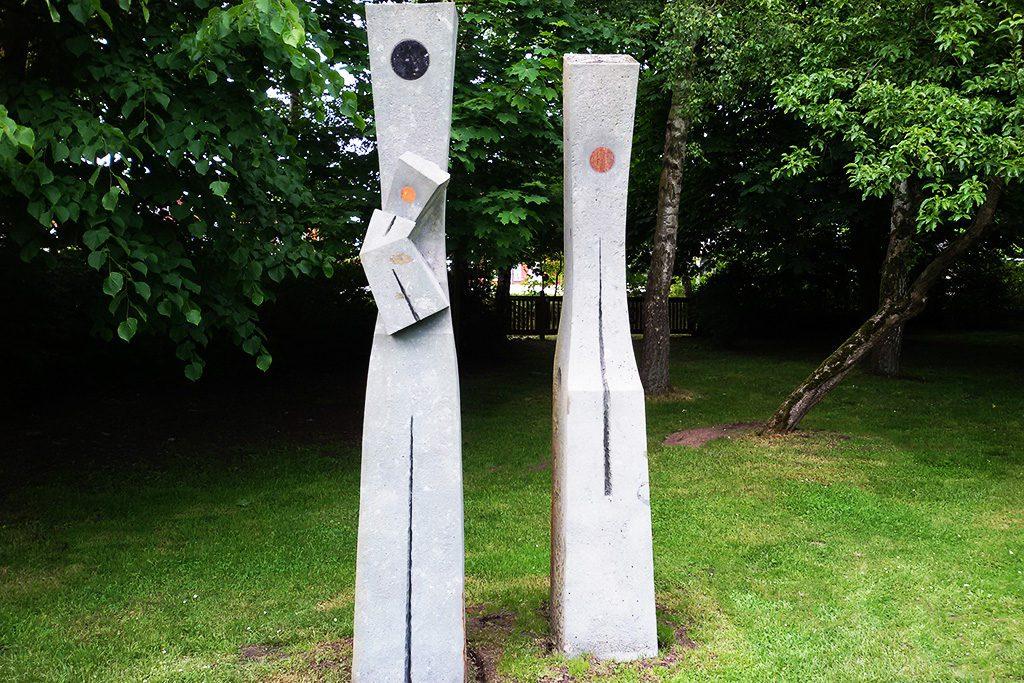 Václav Gatarik's Family has been at Carlshütte at the NordArt in Büdelsdorf since 2005 and is now part of the permanent sculpture garden.