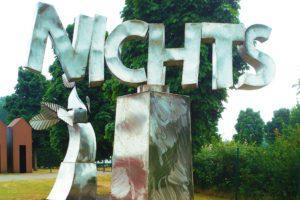 NICHTS by Klaus Gründchen at the NordArt in Büdelsdorf