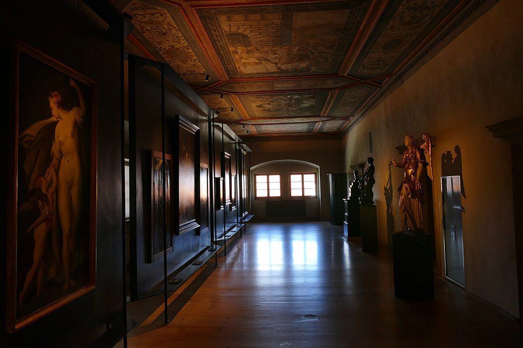 Gallery at the Schwarzenberg Palace in Prague