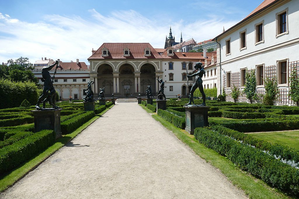 The Waldstein Palace, seat of the Senate of the Parliament of the Czech Republic in Prague.